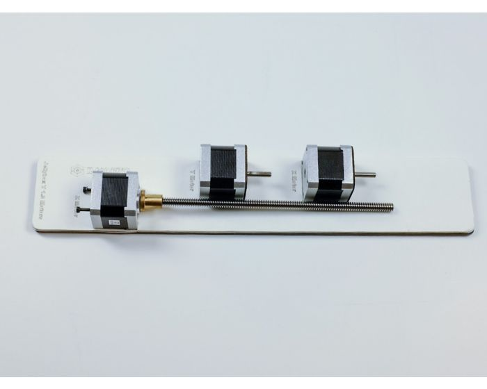 Stepper motors for X, Y and Z movement