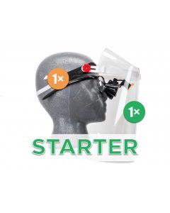 """""""Starter"""" Set - 1× Frame, 1× Visor & 1× Comfort Padding"""
