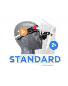 """Standard"" Set - 1× Frame, 2× Visor & 2× Comfort Padding"
